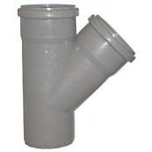 Трійник 67° для внутрішньої каналізації пропілен 110х110х10 мм