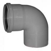 Коліно 45° для внутрішньої каналізації пропілен 110 мм