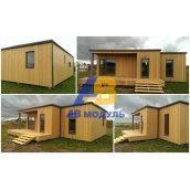 Готовий модульний будинок за технологією Prefab 60 м2