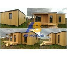 Готовый модульный дом по технологии Prefab 60 м2