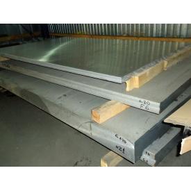 Плита алюминиевая Д16 110х1200х3000 мм