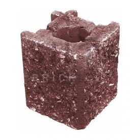 Камень навесной угловой Силта-Брик Элит 24-2 129х150х129 мм