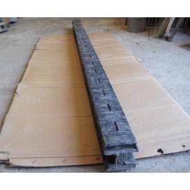 Столбик ограждения глянцевый 2,8 м серый