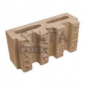 Блок декоративний Сілта-Брік Еліт 39 канелюрний 390х190х140 мм