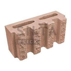 Блок декоративний Сілта-Брік Еліт 38-24 канелюрний 390х190х140 мм