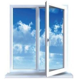 Металопластикове вікно Viknaroff ClassicLine з енергозберігаючим склопакетом 1000x1200 мм