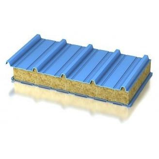 Сендвич-панель Промстан с наполнителем из минеральной ваты 100 мм