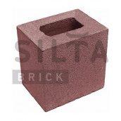 Полублок гладкий Силта-Брик Цветной 24-2 190х190х140 мм