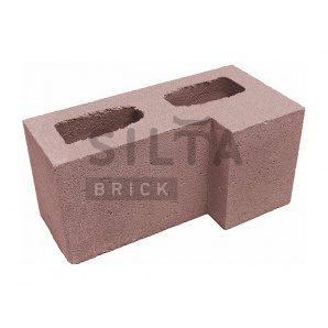 Блок гладкий Сілта-Брік Еліт 53 кутовий 390х190х190 мм