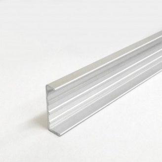 Алюминиевый торцовочный профиль AS 21,2х8 мм