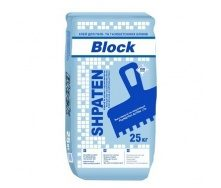 Клей для газоблока Shpaten Block 25 кг