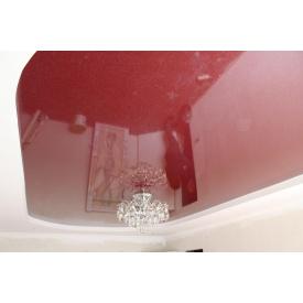 Декоративна плівка для натяжної стелі 0,17 мм червона