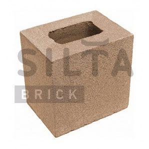 Напівблок гладкий Сілта-Брік Еліт 39 190х190х140 мм