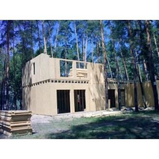 Будівництво каркасно-щитового будинку