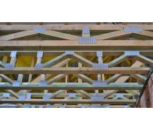 Изготовление деревянной фермы перекрытия