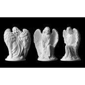 Скульптура Ангел на колене 310х240х170 мм
