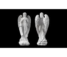 Скульптура Ангел с розами 570х230х170 мм