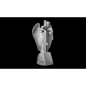 Скульптура Ангел з хрестом 1750х1000х850 мм