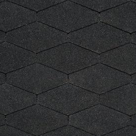 Битумная черепица IKO DiamantShield 284х1000 мм 01 Black
