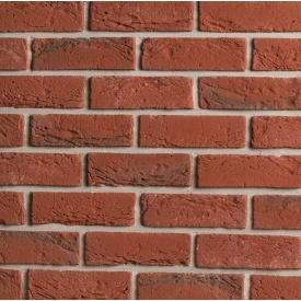 Плитка бетонна Einhorn під декоративний камінь клінкер-35 64x205x15 мм