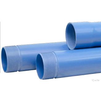 Труба обсадная для скважин НПВХ-V TR 125x5,0x3000 мм
