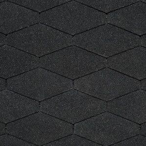 Бітумна черепиця IKO Diamant 284х1000 мм 01 Black