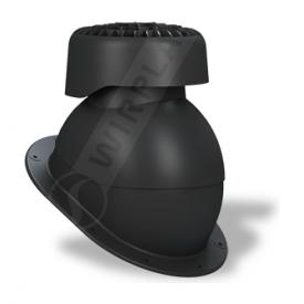 Фановый выход Wirplast Normal K83 110х265 мм черный RAL 9005