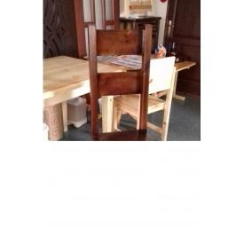 Стул-трон из массива сосны