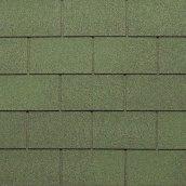 Битумная черепица NORDLAND Классик 3х340х1000 мм зеленый с отливом