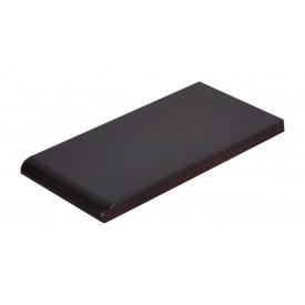 Плитка для парапету Cerrad гладенька 135х245х13 мм nero