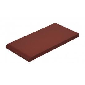 Плитка для парапету Cerrad гладенька 148х300х13 мм burgund