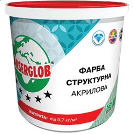 Краска структурная Anserglob акриловая 14 кг