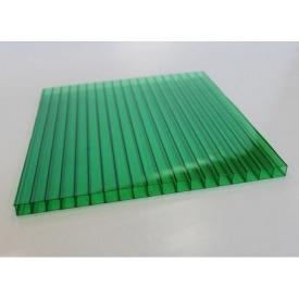 Сотовый поликарбонат Vizor 10 мм зелёный