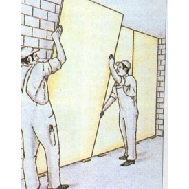 Монтаж стен из гипсокартона