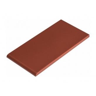 Плитка для парапета Cerrad гладкая 135х245х13 мм burgund