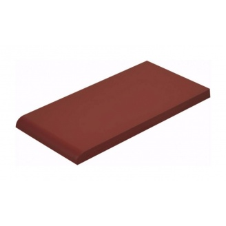 Плитка для парапета Cerrad гладкая 135х245х13 мм rot