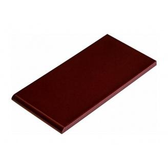 Плитка для парапета Cerrad гладкая 135х245х13 мм wisnia глазурованный
