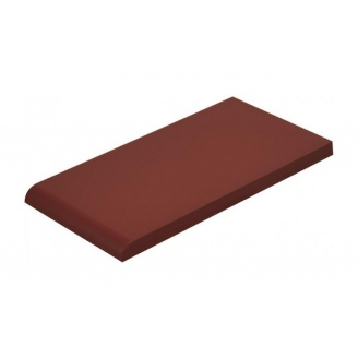 Плитка для парапета Cerrad гладкая 148х300х13 мм burgund