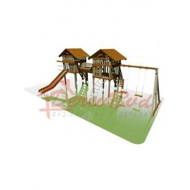Дитячий майданчик STANDART 7 для дітей 6-14 років 540x900 мм 410 см