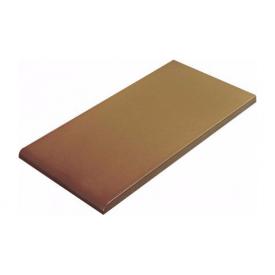 Плитка для парапету Cerrad гладенька 148х350х13 мм miodowy глазурований