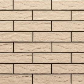Фасадна плитка Cerrad структурна 245х65х6,5 мм krem