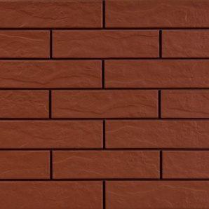 Фасадна плитка Cerrad структурна 245х65х6,5 мм rot