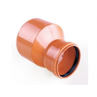 Редукция для наружных канализационных труб 160x110 мм