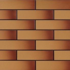 Фасадна плитка Cerrad гладка 245х65х6,5 мм miodowe глазурований