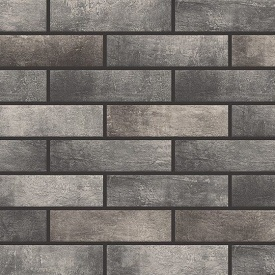 Фасадна плитка Cerrad Loft brick структурна 245х65х8 мм pepper