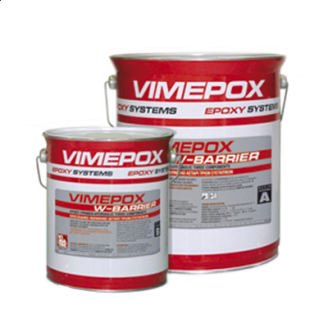 Трехкомпонентная эпоксидно-гидравлическая грунтовка VIMATEC VIMEPOX W-BARRIER 1 кг