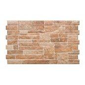 Фасадная плитка Cerrad Canella структурная 490x300x10 мм ginger