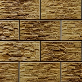 Плитка фасадна Cerrad CER 33 структурна 300x148x9 мм limonit