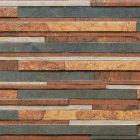 Фасадна плитка Cerrad Zebrina структурна 600x175x9 мм rust