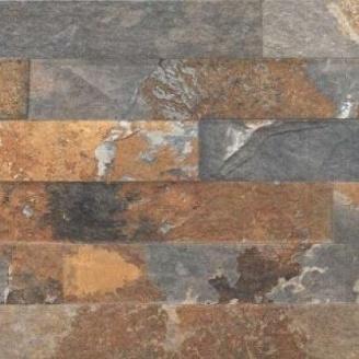 Фасадная плитка Cerrad Kallio структурная 450x150x9 мм rust